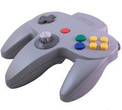 ORIGINAL NINTENDO 64 GREY CONTROLLER [PRE-OWNED]