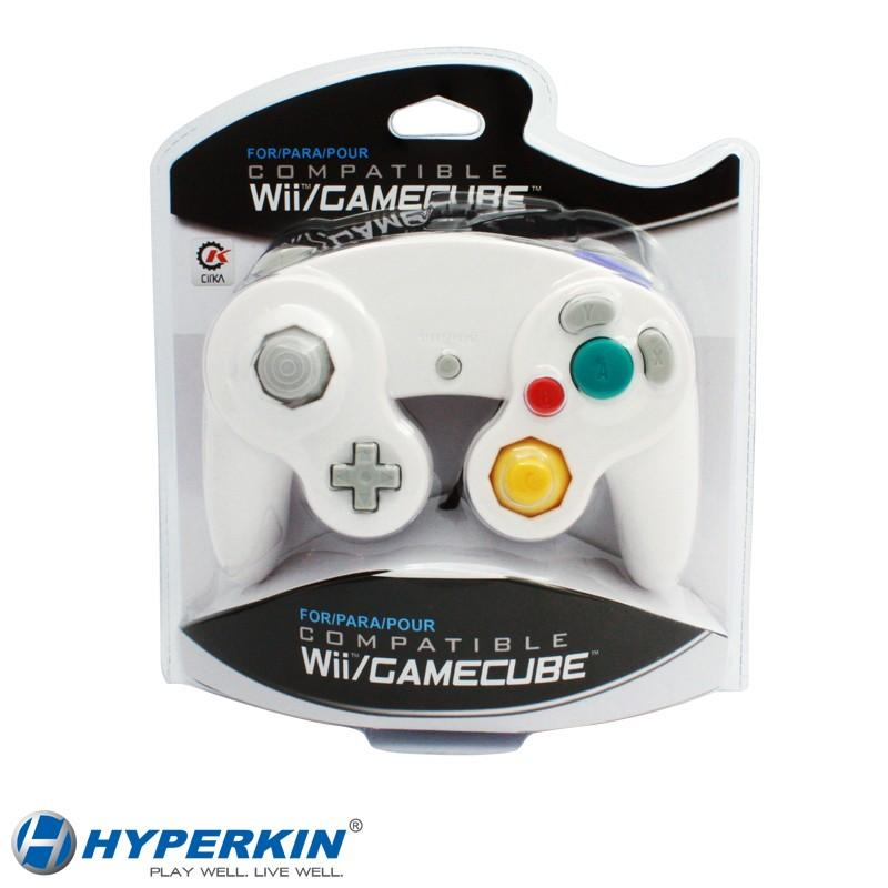Wii/GameCube CirKa controller (White) [NEW]