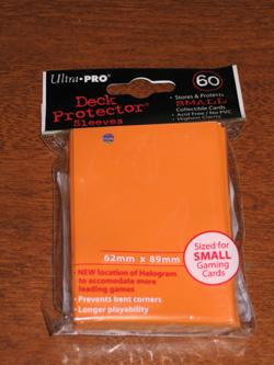 SMALL ORANGE DECK PROTECTOR, 60 COUNT 82684/82968