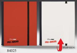 4 POCKET PRO BINDER, RED/WHITE 84025