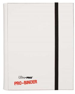 9 POCKET PRO BINDER WHITE 82833