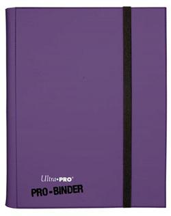 9 POCKET PRO BINDER PURPLE 82844