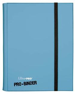 9 POCKET PRO BINDER LIGHT BLUE 82846