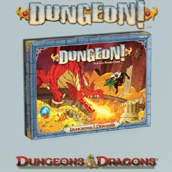 DUNGEONS & DRAGONS - DUNGEON! BOARD GAME WOCA7849