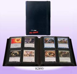 ULTRA PRO 4 POCKET PRO BINDER BLACK 82895