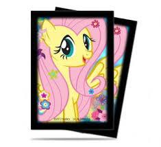 "ULTRA PRO SMALL MY LITTLE PONY DECK PROTECTOR 'FLUTTERSY"" 84219"
