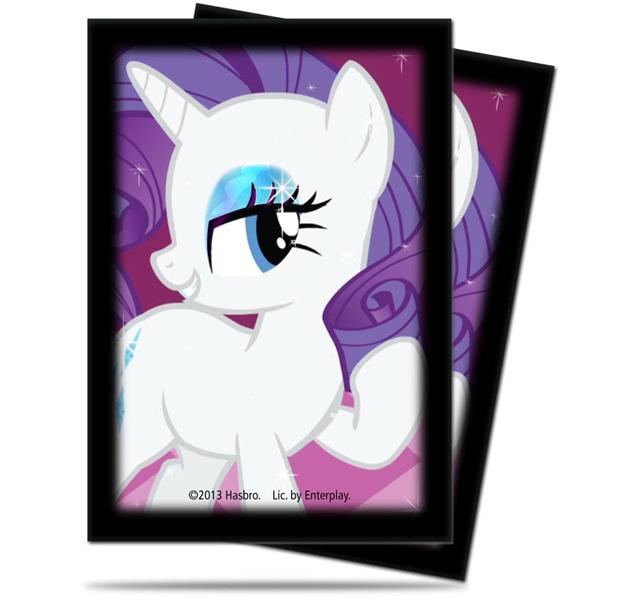 "ULTRA PRO SMALL MY LITTLE PONY DECK PROTECTOR 'RARITY"" 84220"