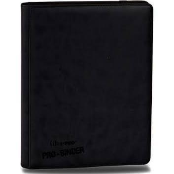 9 POCKET PREMIUM PRO BINDER, BLACK 84194