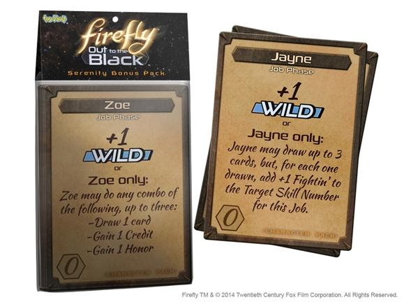 Firefly: Out to the Black Card Game - Serenity Card Pack Expans
