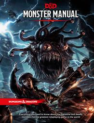 Dungeons and Dragons Next RPG: Monster Manual WOCA9218