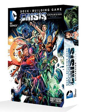 DC Comics Deck Building Game: Crisis Expansion Pack 1 CZE 01774
