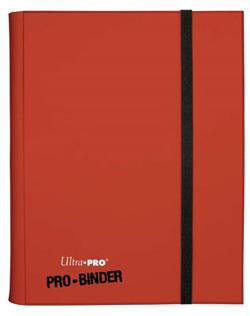9 POCKET PRO BINDER RED 82845