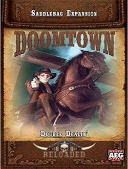 DOOMTOWN ECG EXPANSION 2 DOUBLE DEALIN AEG5903