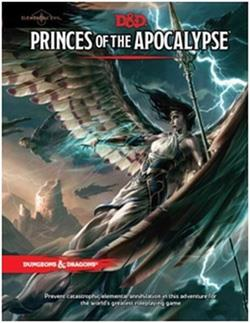"DUNGEONS & DRAGONS RPG ELEMENTAL EVIL ""PRINCES OF THE APOCALYPS"