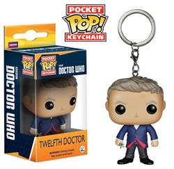 POCKET POP! KEYCHAIN DOCTOR WHO THE TWELFTH DOCTOR FNK4995