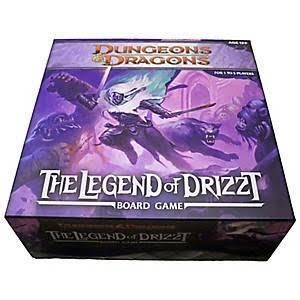DUNGEONS & DRAGONS LEGEND OF DRIZZT BOARDGAME WOC35594