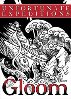 "GLOOM CG 2E ""UNFORTUNATE EXPEDITIONS"" EXPANSION ATG1354"