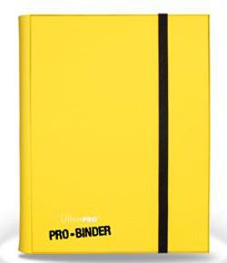 9 POCKET PRO BINDER YELLOW 84565