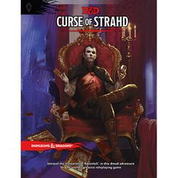 DUNGEONS AND DRAGONS RPG CURSE OF STRAHD WOCB6517