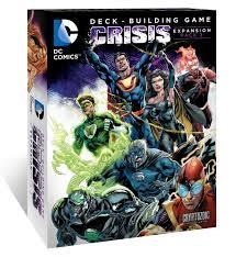 DC COMICS DECK BUILDING GAME CRISIS EXPANSION PACK 3 CZE01972