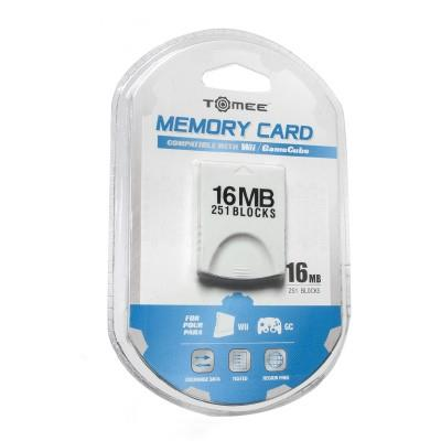 Wii/ GameCube 16MB Memory Card Tomee