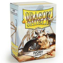 DRAGON SHIELD SLEEVES MATTE IVORY FFGDSH117