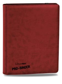 9 POCKET PREMIUM PRO BINDER, RED 84195 UPPF9PBR