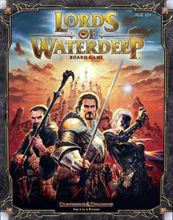 Dungeons & Dragons: Lords of Waterdeep Boardgame WOC38851