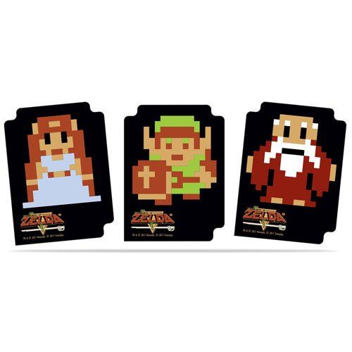 THE LEGEND OF ZELDA 8-BIT CARD DIVIDERS 85224 UPCDLOZ8B