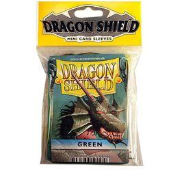 DRAGON SHIELDS MINI 50CT PACK GREEN FFGDSH14