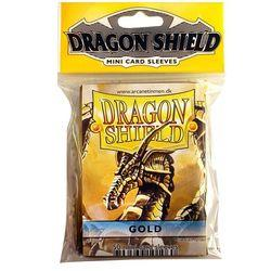 DRAGON SHIELDS MINI 50CT PACK GOLD FFGDSH16