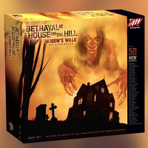 BETRAYAL AT HOUSE ON THE HILL WIDOW'S WALK AVHC0141