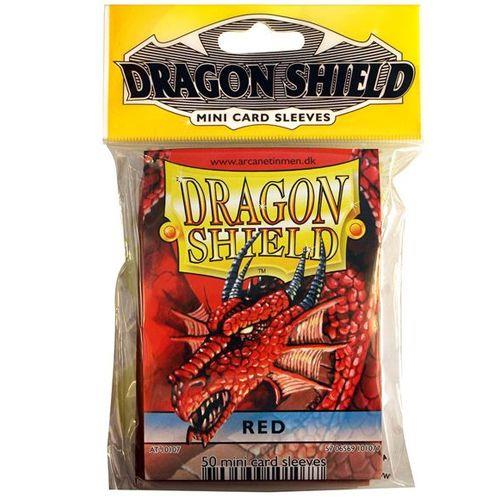 DRAGON SHIELDS - MINI 50CT PACK RED AT-10107