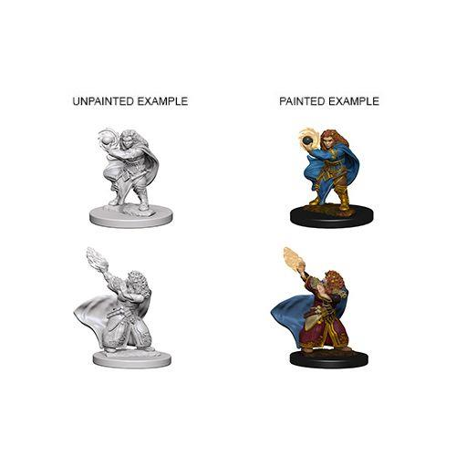 D&D NOLZUR'S MARVELOUS UNPAINTED MINIATURES DWARF FEMALE WIZARD