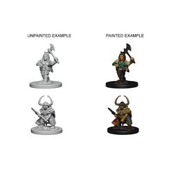 D&D NOLZUR'S MARVELOUS UNPAINTED MINIATURES DWARF FEMALE BARBAR