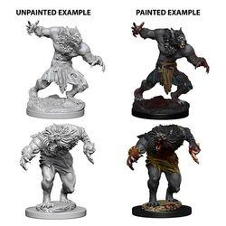 D&D NOLZUR'S MARVELOUS UNPAINTED MINIATURES WEREWOLVES WIZ73194