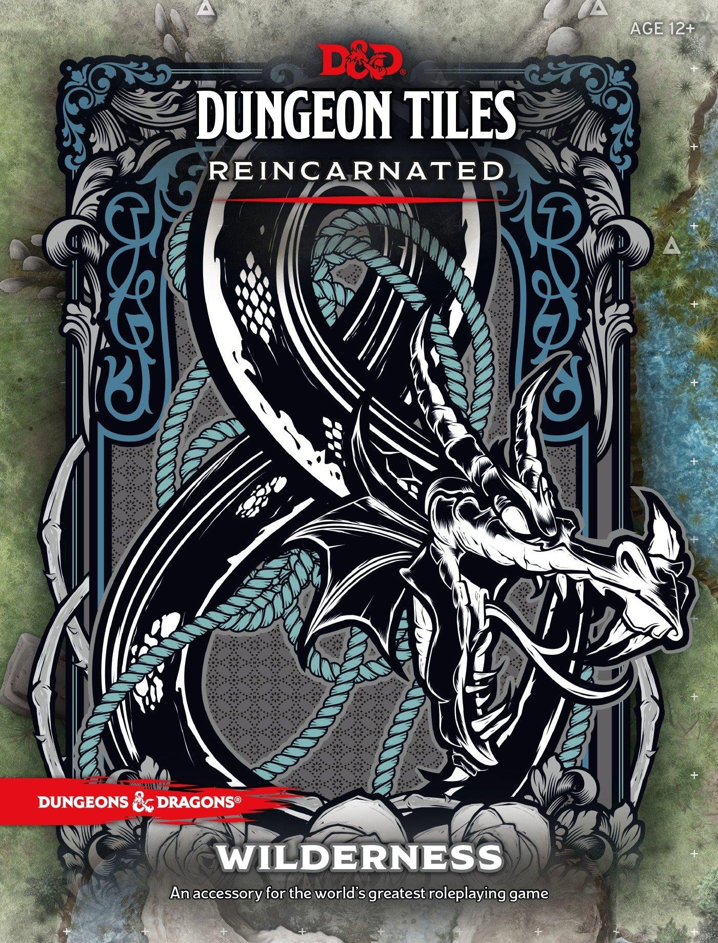 DUNGEONS AND DRAGONS DUNGEON TILES REINCARNATED WILDERNESS WOCC