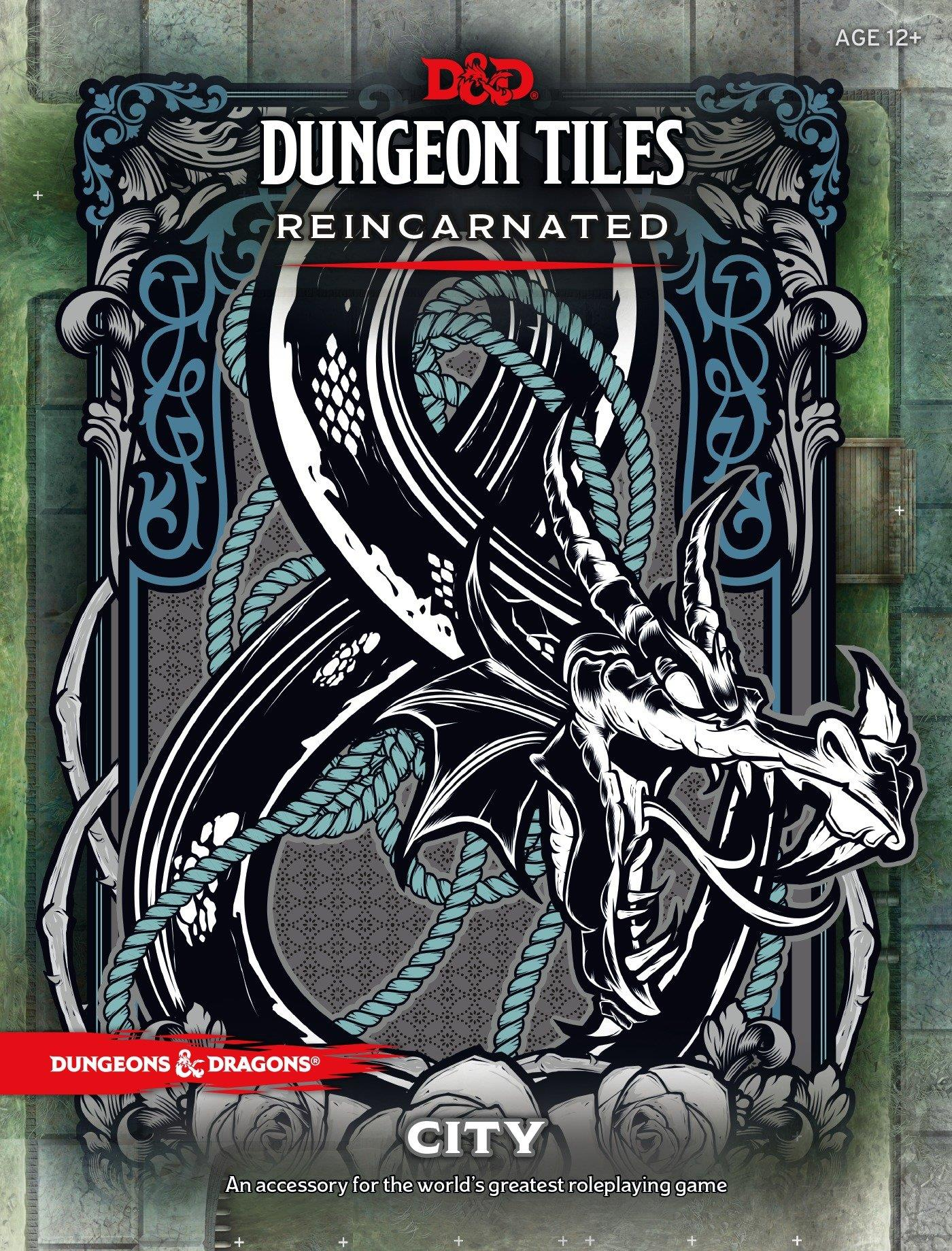 DUNGEONS AND DRAGONS DUNGEON TILES REINCARNATED CITY WOCC4911