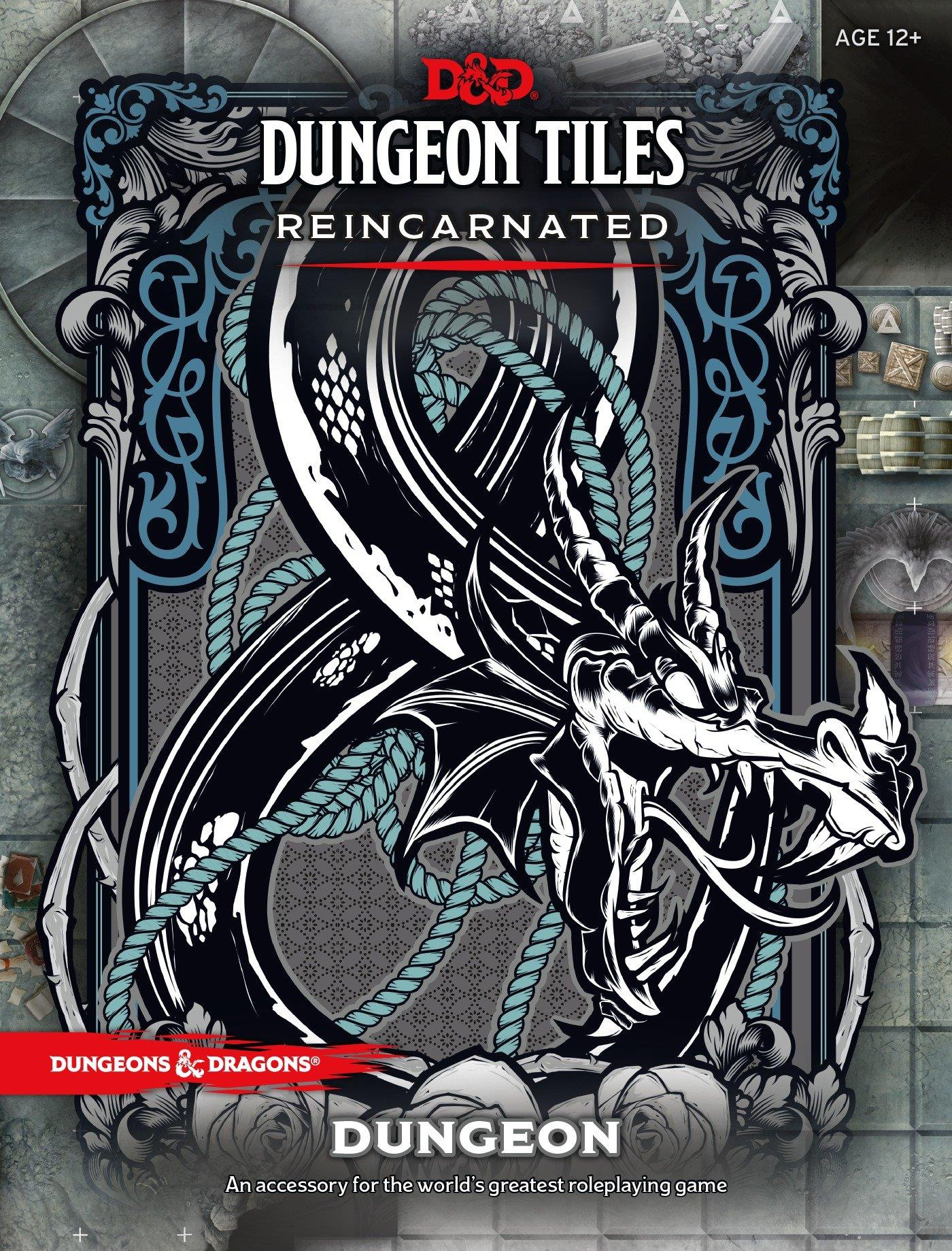 DUNGEONS AND DRAGONS DUNGEON TILES REINCARNATED DUNGEON WOCC491