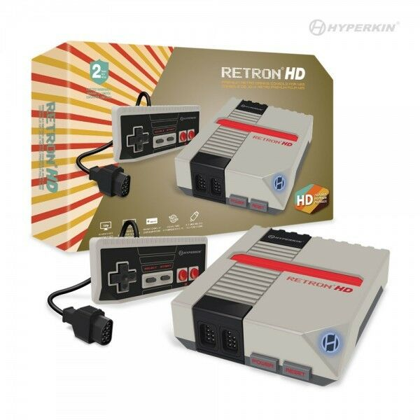 RetroN 1 HD Gaming Console for NES (Grey) - Hyperkin
