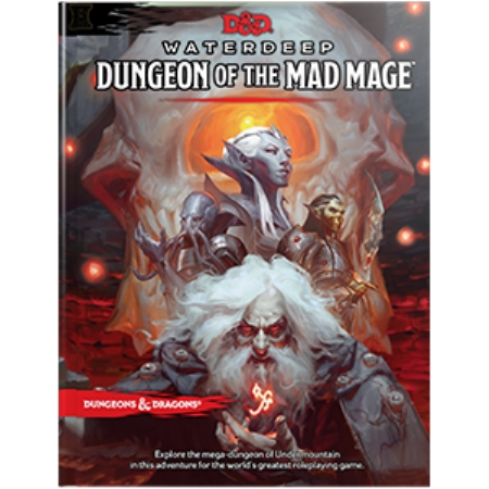 DUNGEONS AND DRAGONS 5E: WATERDEEP: DUNGEON OF THE MAD MAGE WOC