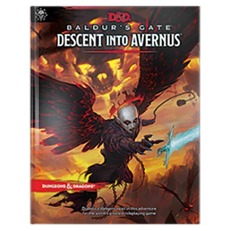 DUNGEONS AND DRAGONS 5E: BALDUR'S GATE: DESCENT INTO AVERNUS WO