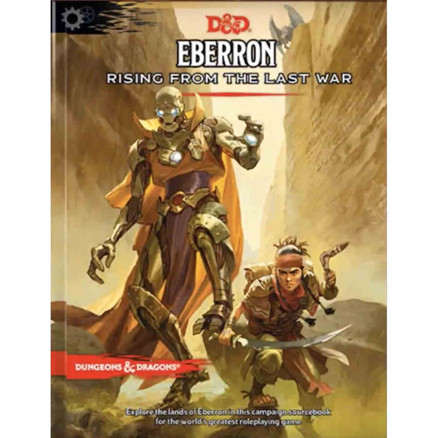 DUNGEONS AND DRAGONS 5E: EBERRON RISING FROM THE LAST WAR