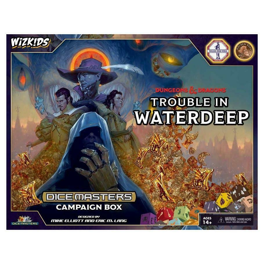DUNGEONS AND DRAGONS DICE MASTERS:TROUBLE IN WATERDEEP CAMPAIGN