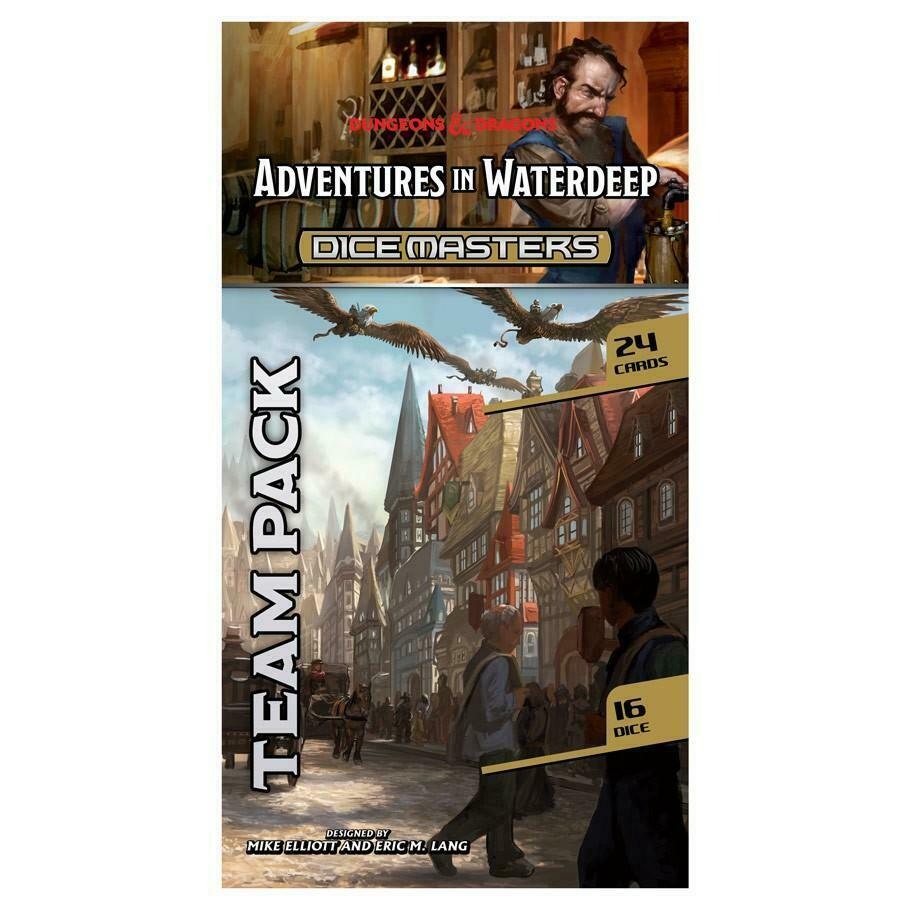 DUNGEONS AND DRAGONS DICE MASTERS: ADVENTURES IN WATERDEEP TEAM
