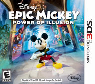 Disney Epic Mickey Power of Illusi (3DS) [USED]