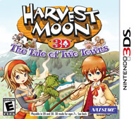 Harvest Moon 3D The Tale of Two To (3DS) [USED]