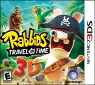 Rabbids Travel in Time 3D (3DS) [USED CO]