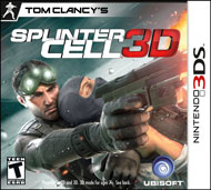 Tom Clancy's Splinter Cell 3D (3DS) [USED]