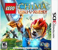 LEGO Legends of Chima Laval's Jour (3DS) [USED]
